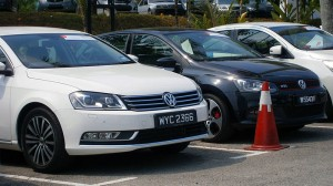 Volkswagen_Test_Drive_Cars_(left_to_right;_Passat_1.8_TSI,_Polo_GTi)_in_Glenmarie,_Malaysia