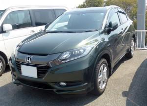 Honda_VEZEL_HYBRID_X_L_Package_(RU3)_front